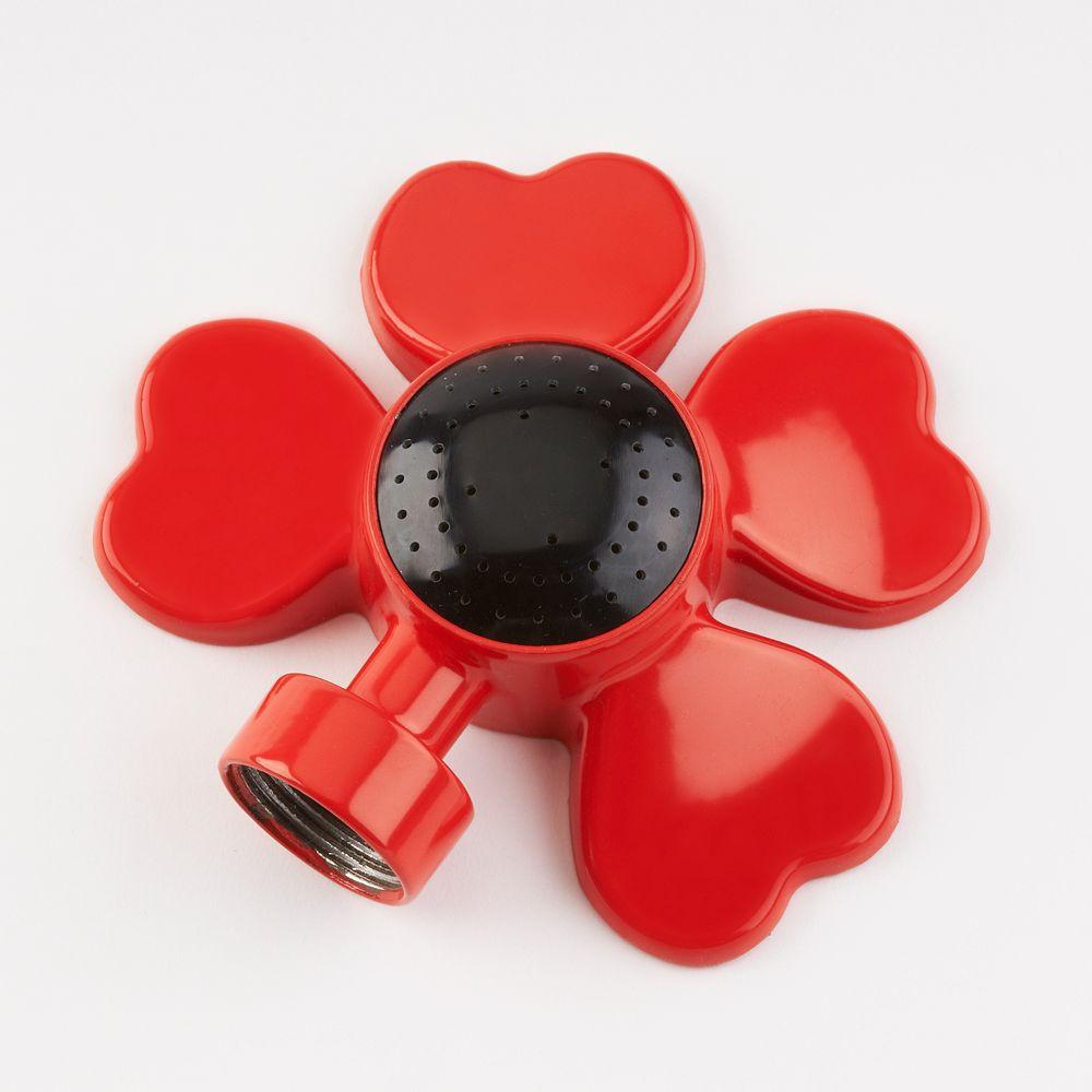Colourwave Rectangle Spot Sprinkler in Red