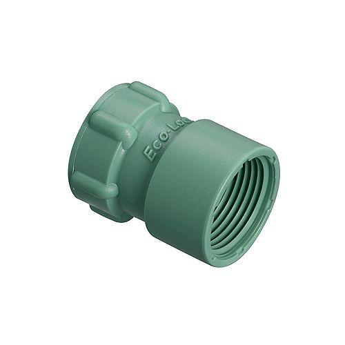Adaptateur Eco-Lock FTP de 1 po x 3/4 po