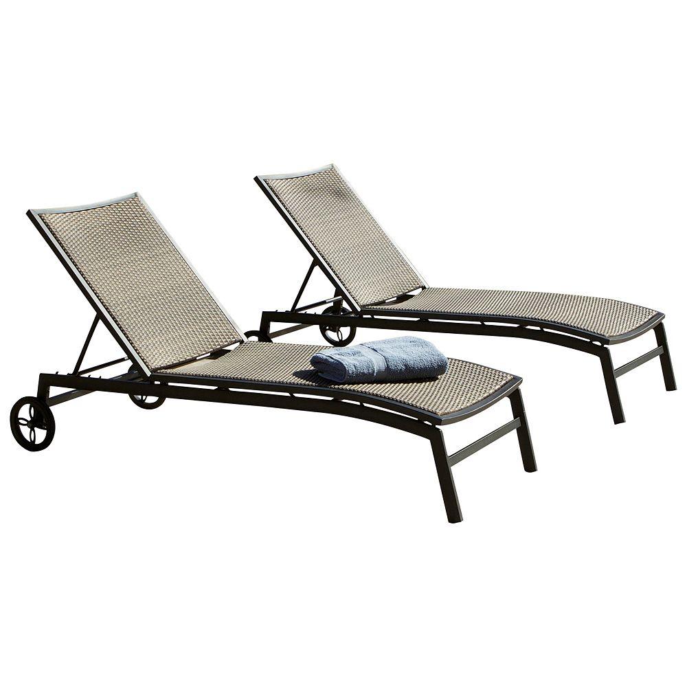 RST Living ZEN Chaise Lounger (2-Pack)