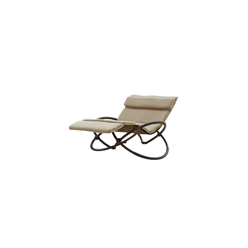 RST Living Delano Double Orbital Lounger with Cushion Set