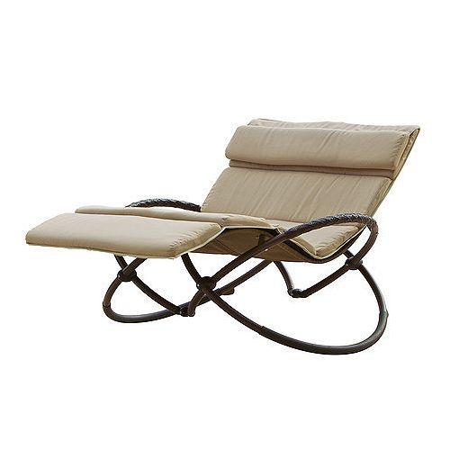 Delano Double Orbital Lounger with Cushion Set
