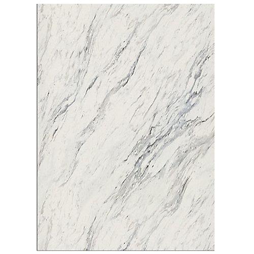 4925-07 Laminate Countertop Sample in Calcutta Marble