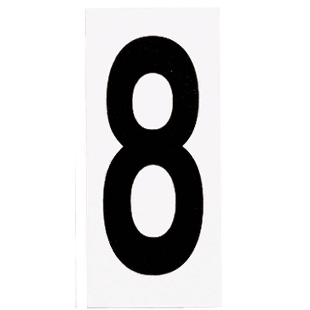 Progress Lighting Address Light Number Tile, No. 8