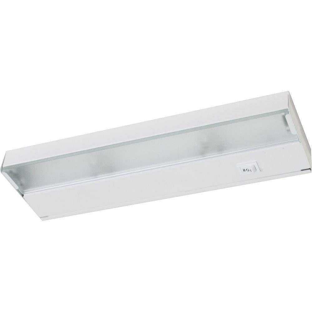 Progress Lighting Hide A Lite Iii White 2 Light Under Cabinet Fixture The Home Depot Canada