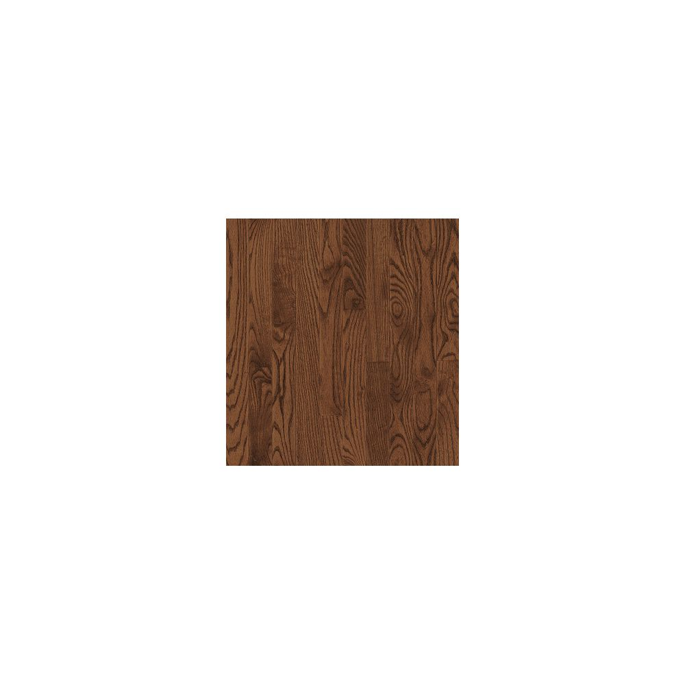 Bruce Plancher, bois massif, 3 1/4 po x 3/4 po, Chêne massif Saddle, 22 pi2/boîte