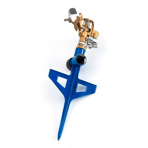 Pulsating Brass Sprinkler in Blue