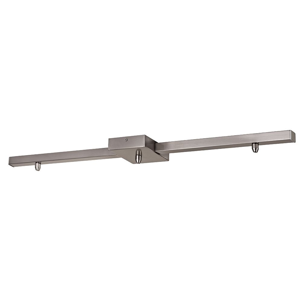 Home Decorators Collection Barre de forme carrée pour 3 suspensions BN