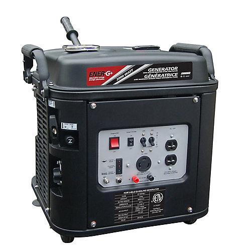 Génératrice Éner-G+ LT3075Li moteur 4 temps OHV à essence à faible niveau de bruit avec inverteur