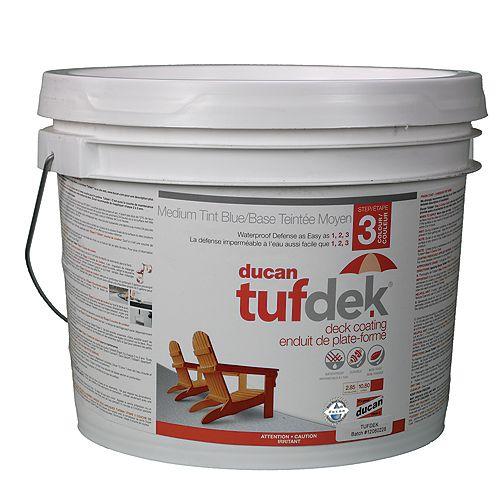 Tufdek Étape 3. La troisième étape dans le système Tufdek. Fournit la couleur et l'U.V. la protection.