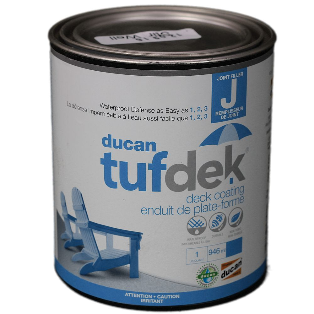 Ducan Tufdek Tufdek Filler for the Tufdek System. Used to fill plywood seams, screw holes and indentations and the transition from flashing to deck.