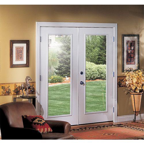 Veranda Porte-fenêtre à deuxbattants et à vitrage unique, côté droit, ouverture vers l'intérieur, 60po, ENERGY STAR®