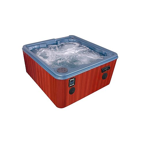 Key Largo 8-Person 70-Jet Spa Bromine Salt System, WOW Sound with FREE ENERGY SAVER PACKAGE