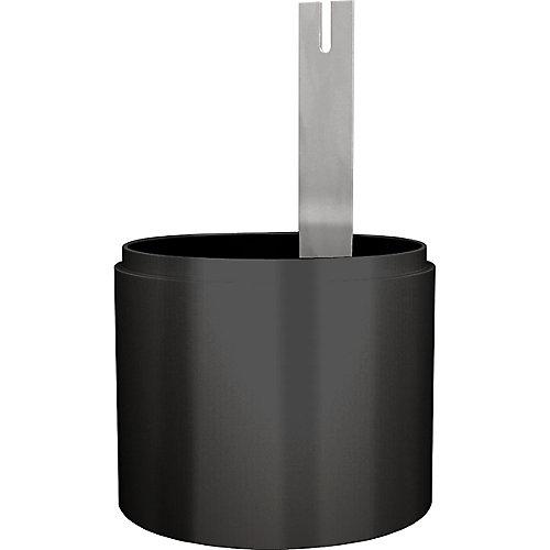 Black Full Cutoff Light Shield Accessory
