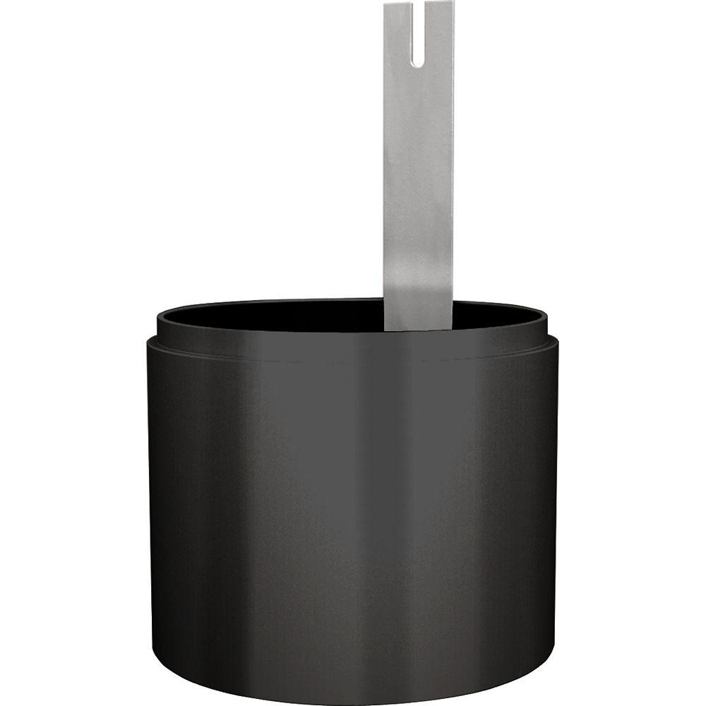 Progress Lighting Abat-jour accessoire à défilement absolu - fini Noir