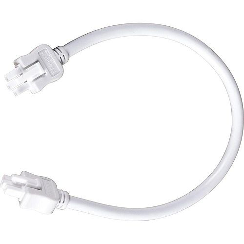 Câble de branchement Hide-A-Lite III - fini Blanc de 12po (30.5cm)
