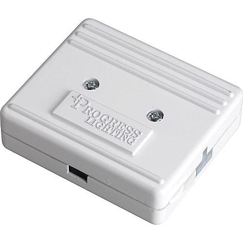 Hide-A-Lite III White Direct Wire Junction Box