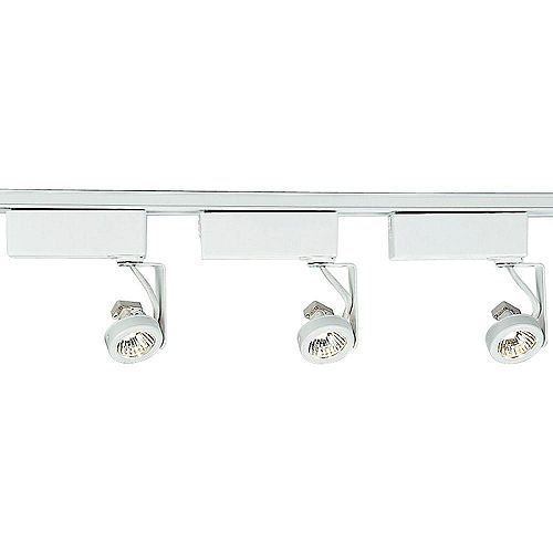 Alpha Trak Collection 3-Light Track Kit in White
