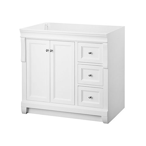 Naples 36-Inch Vanity Cabinet in White