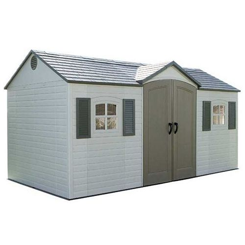 15 ft. x 8 ft. Garden Shed