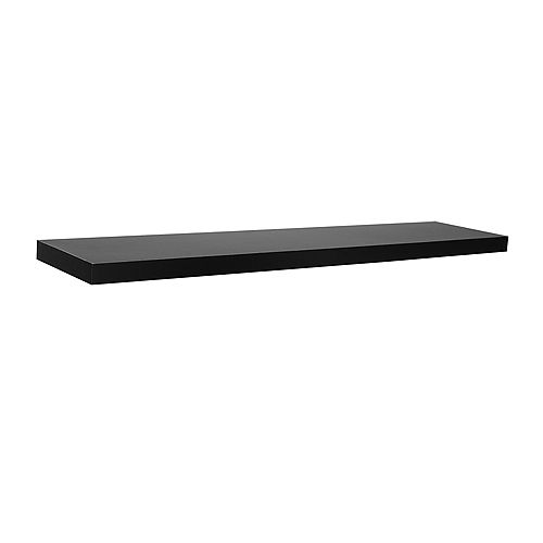 "Home Decorators Collection 36"" Black Slim Floating Shelf"