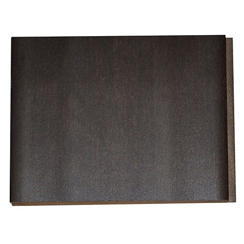 Handscraped Birch Walnut 4-inch x 4-inch Hardwood Flooring Sample