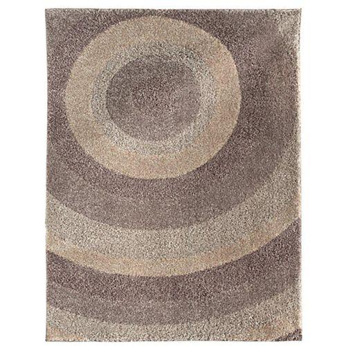 Carpette d'intérieur, 7 pi 10 po x 10 pi, style contemporain, rectangulaire, gris Ringmaster