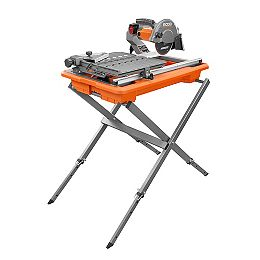 9-Amp 7-inch Portable Wet Tile Saw with Stand