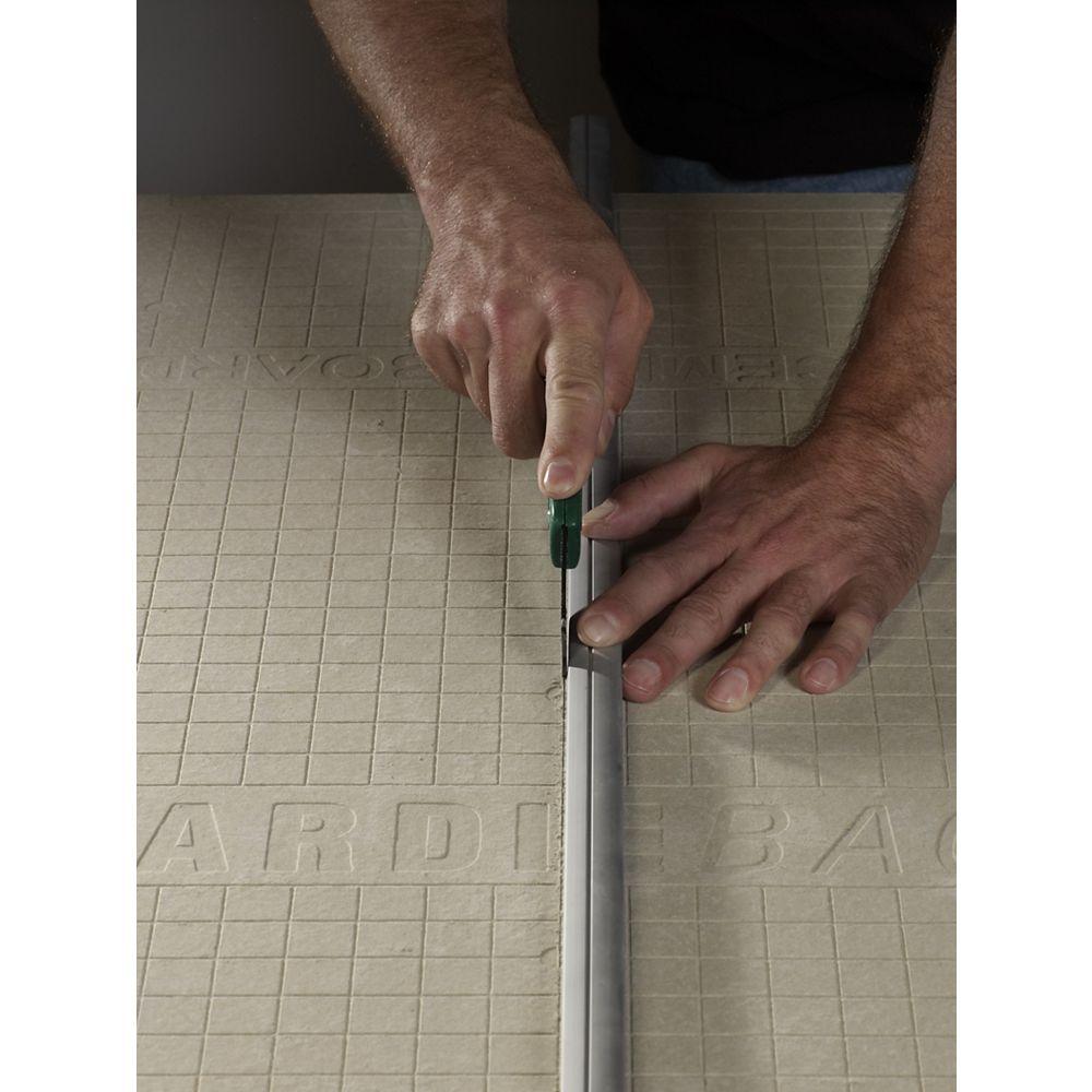 HardieBacker EZ Grid Cement Board 3 ft. x 5 ft. X 1/4 inch