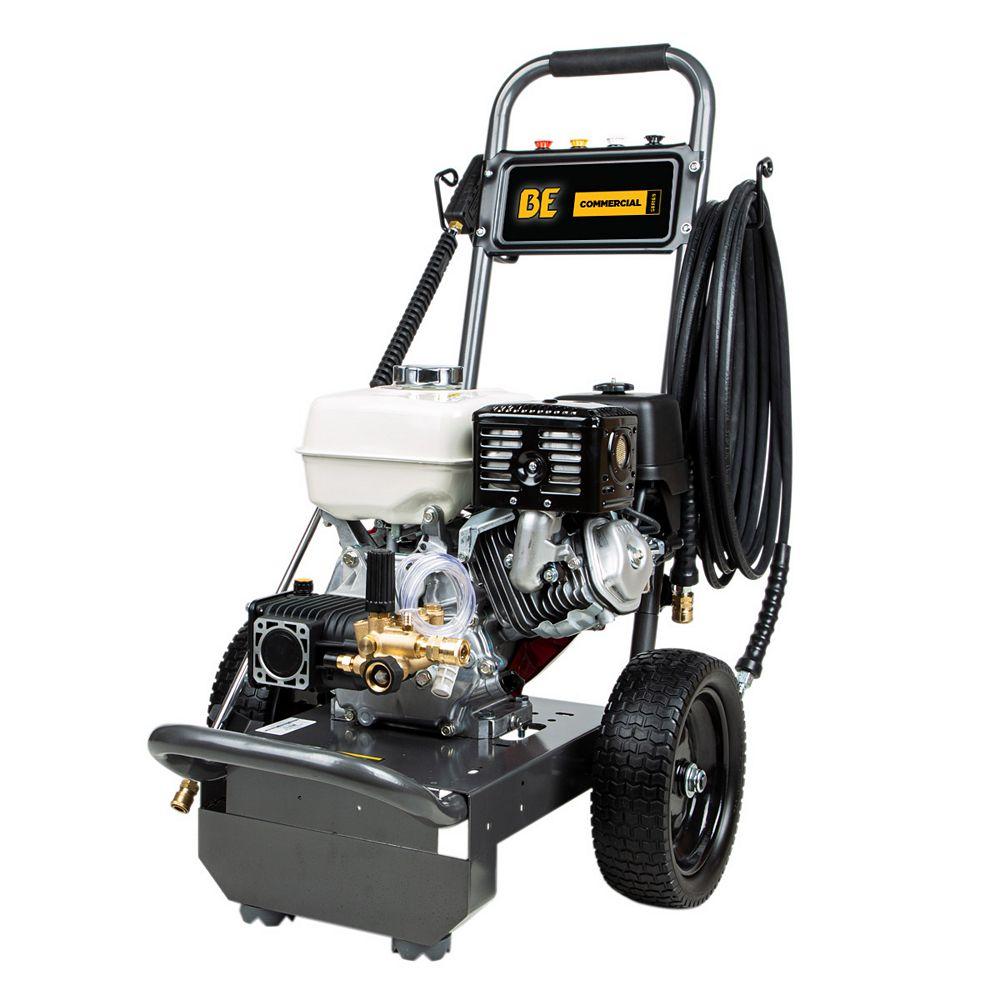 BE Power Equipment 3,800 PSI - 3.5 GPM Honda GX270 Pressure Washer
