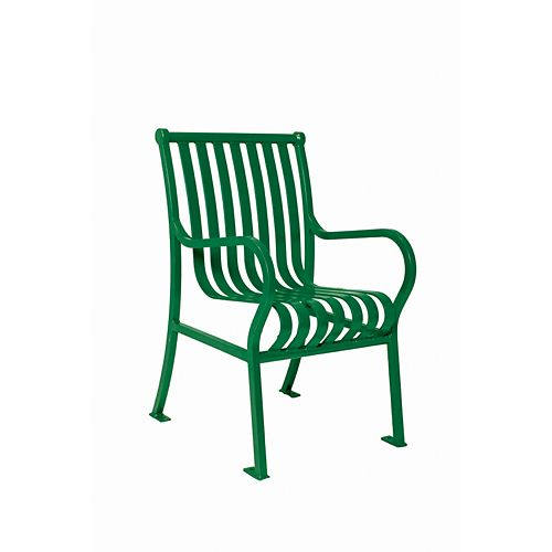 Hamilton Commercial Patio Chair in Green
