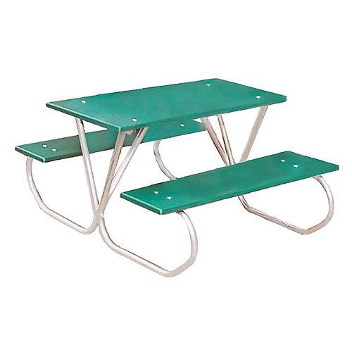 3 ft. Commercial Plastic Preschool Table in Green