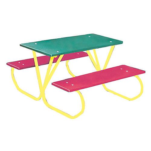 3 ft. Commercial Plastic Preschool Table