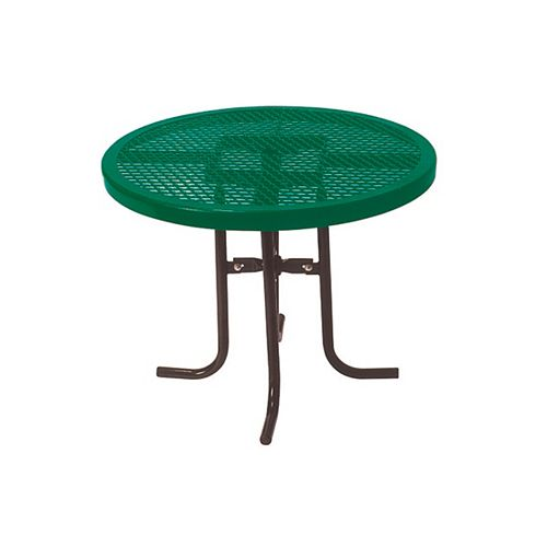 36-inch Commercial Round Table in Green