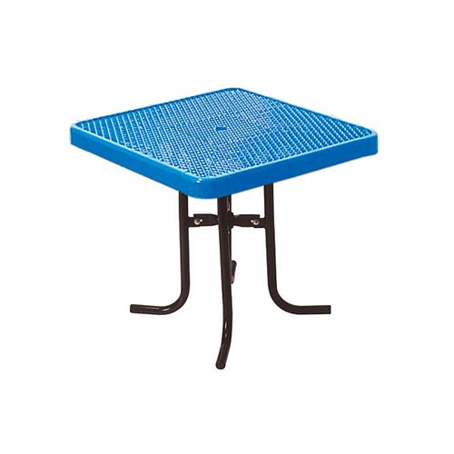 36-inch Commercial Square Table in Blue