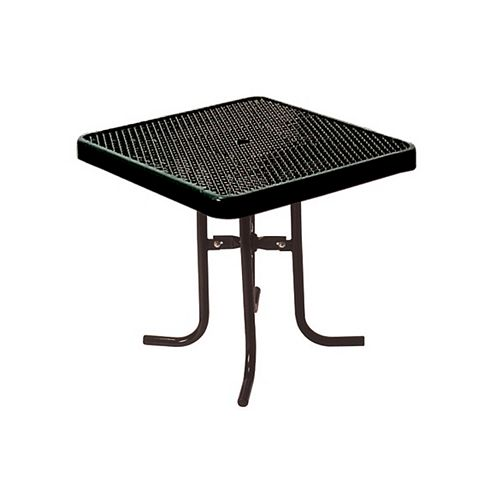 36-inch Commercial Square Table in Black