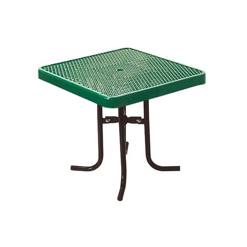 36-inch Commercial Square Table in Green