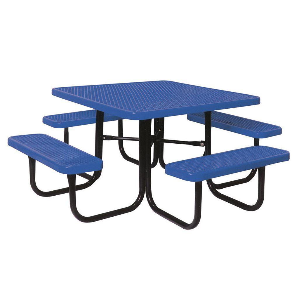 UltraSite Table carré de 46po- Bleu