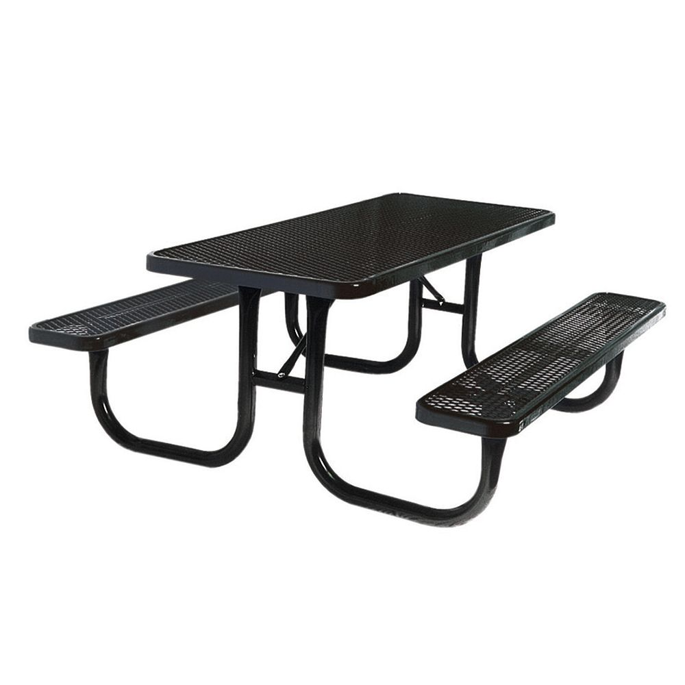 UltraSite Table très durable de 8 pi- Noir