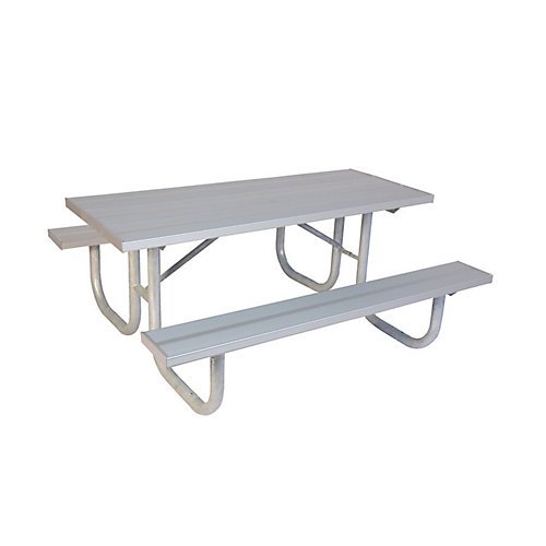 8 ft. Commercial Aluminum Table