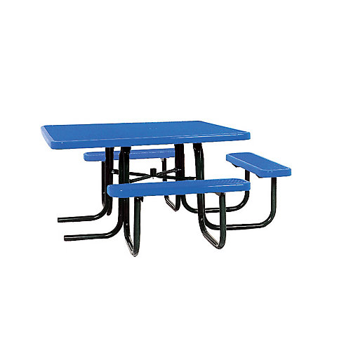 46-inch ADA Commercial Square Table in Blue