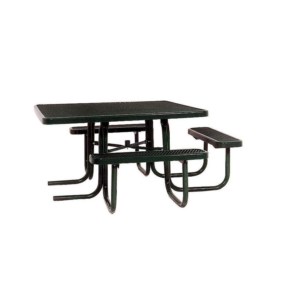 UltraSite Table carrée de 46po répondant aux normes de lADA- Noir