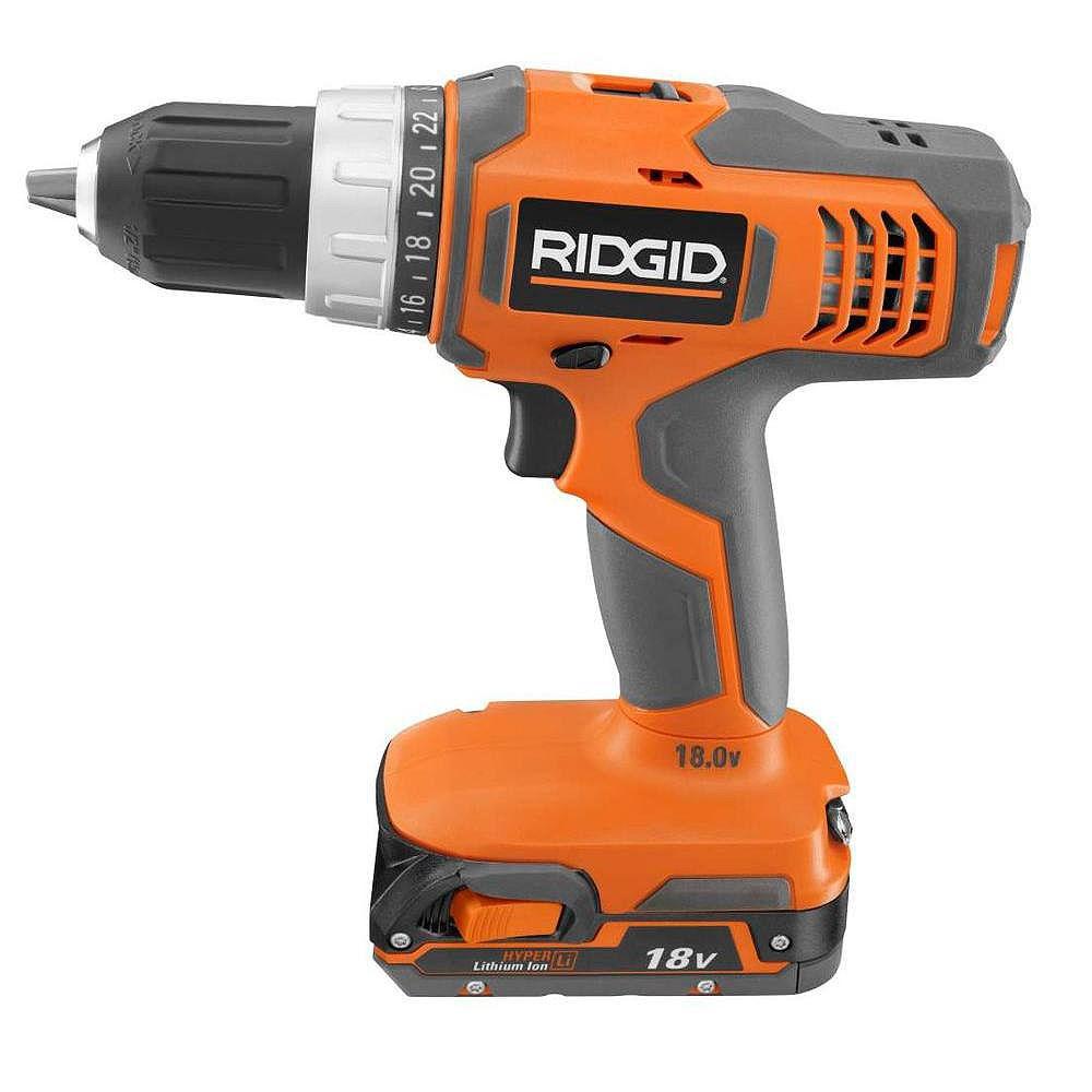 RIDGID 18V Hyper Lithium Drill Kit