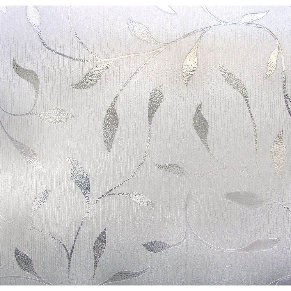 Artscape 12 Inch x 83 Inch Etched Leaf Sidelight
