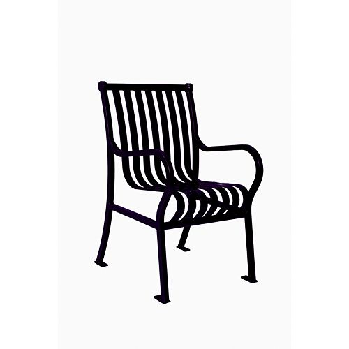 Hamilton Commercial Patio Chair in Black