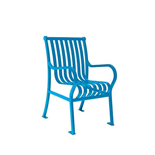 Hamilton Commercial Patio Chair in Blue