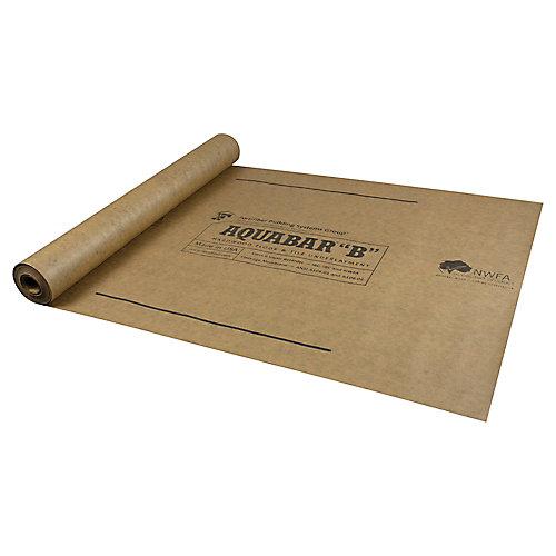 "3 ft. x 167 ft. AQUABAR ""B"" Tile and Flooring Underlayment, 500 sq. ft. Roll"