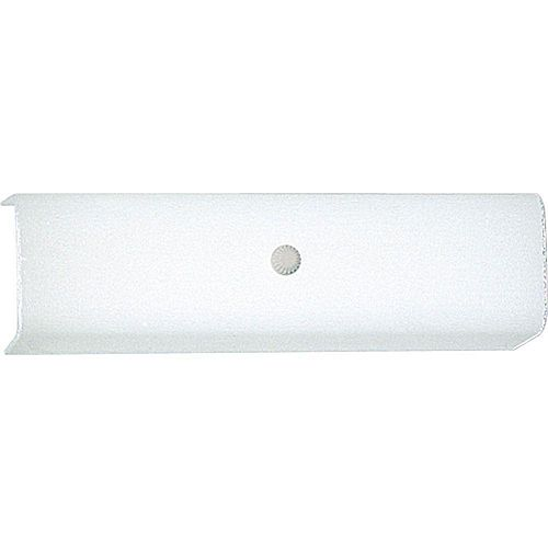 White 2-light Vanity Fixture