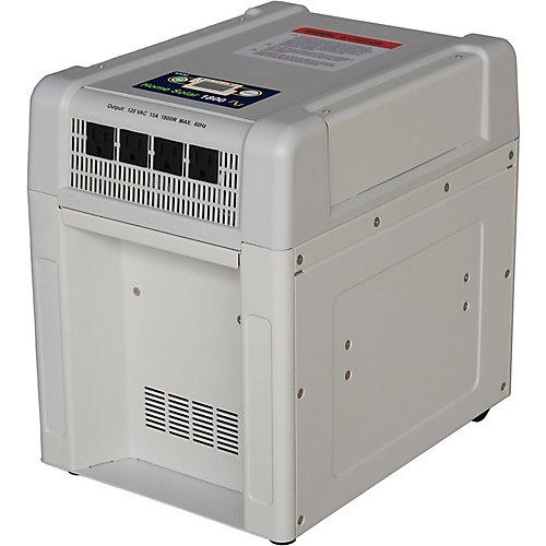 Accueil kit solaire de 1800 watts inverseur, batterie au plomb 60Ah,