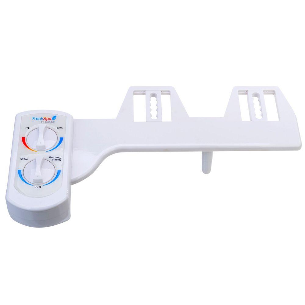 Brondell Dual Temperature Bidet Attachment in White