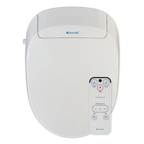 L'abattant de toilettes bidet swash 300-allongé blanc